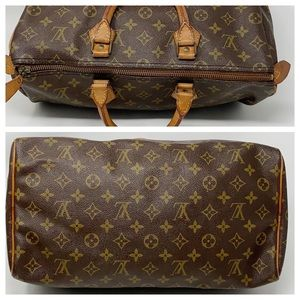 Louis Vuitton Bags - Authentic Louis Vuitton Speedy 35 Satchel Bag